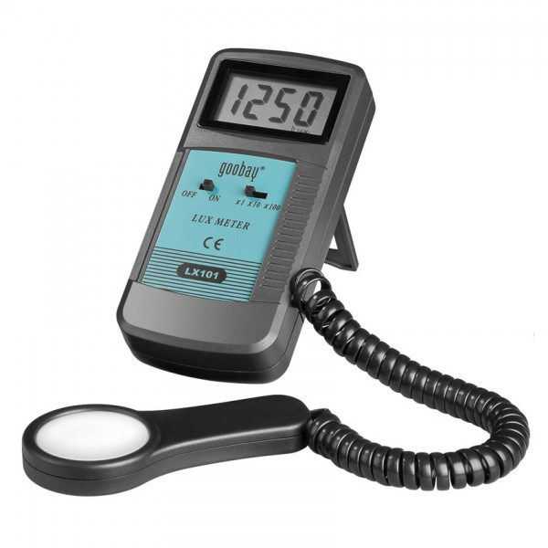 Digital Luxmeter with LCD-display (3 1/2 digits)