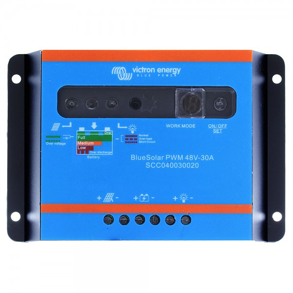 Victron BlueSolar PWM-Light 48V 30A Solar Charge Controller
