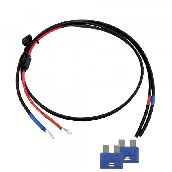 1,5 Battery Cable with 15A fuse - M8 circular cable shoe